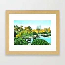"""Lone Bird"" Framed Art Print"