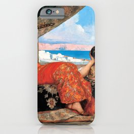 Jean-Joseph Benjamin-Constant - The Favorite Of The Emir - Digital Remastered Edition iPhone Case