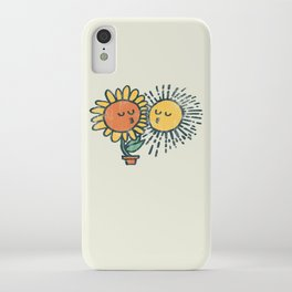 Sun Kissed sunflower iPhone Case