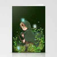 hetalia Stationery Cards featuring Albion by kitkatkatee