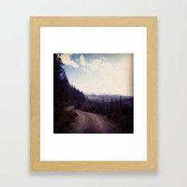 Roads: Onward Adventure  Framed Art Print