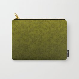 Olive marble Carry-All Pouch