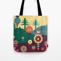 sunshine Tote Bags featuring Sunshine by Kakel