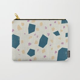 Pastel Terrazzo Pattern - Marble Granite  Carry-All Pouch