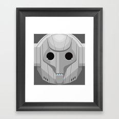 Cyberman - Doctor Who Framed Art Print