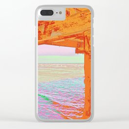 Land and Seascapes Clear iPhone Case