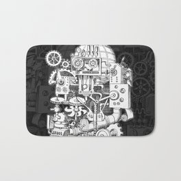 Hungry Gears Bath Mat