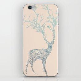 Blue Deer iPhone Skin