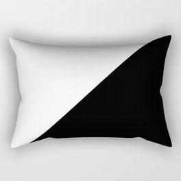 Modern MidCentury Design (B&W) Rectangular Pillow