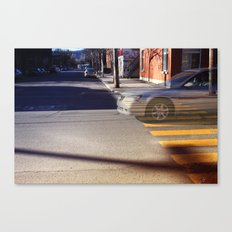 The existence of a moment Canvas Print
