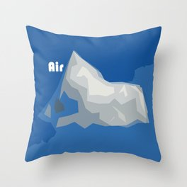 Elements ... Air Throw Pillow