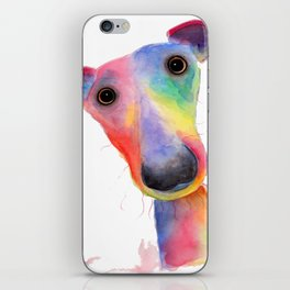 ' THe WaCKY WHiPPeTS ' WHiPPeT, GReYHouND PRiNTs, ART iPhone Skin