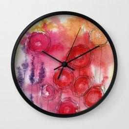 Blooming Beauty Wall Clock