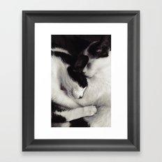 like mother, like daughter Framed Art Print