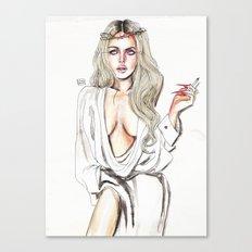 Lindsay lohan Canvas Print