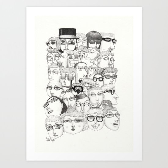 PeopleI Art Print