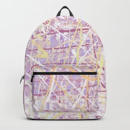 Flight of Color - Lilac Backpack