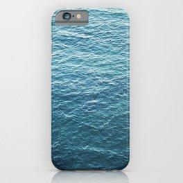 "Travel photography ""Blue ocean waves"" | Fine art Photo Print | Modern Wall art | Wanderlust Ibiza iPhone Case"