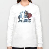 super smash bros Long Sleeve T-shirts featuring Lucina - Super Smash Bros. by Donkey Inferno