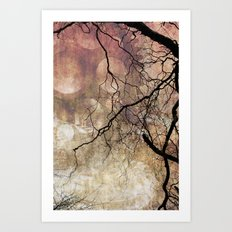 Branches and Texture New Art Print