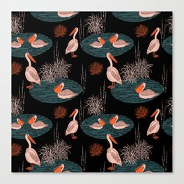 BIRDS IN PARADISE Canvas Print
