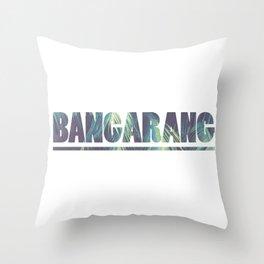 Bangarang Nostalgic 90s Hook Inspired Throw Pillow