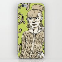 baroque iPhone & iPod Skins featuring Baroque  by Danielle Feigenbaum