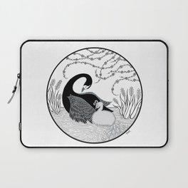Black Swan and Moonlark Laptop Sleeve