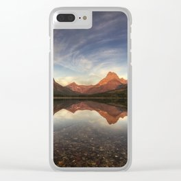 Many Glacier Zen Clear iPhone Case
