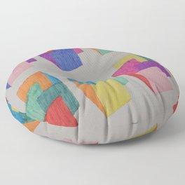 Isometric Markers Floor Pillow