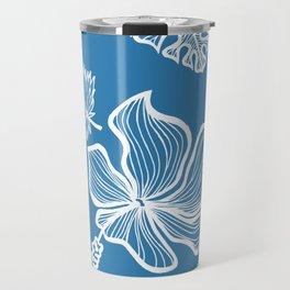 Blue Tropicana Travel Mug