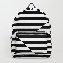 VISUAL LANGUAGE (BLACK-WHITE) Backpack