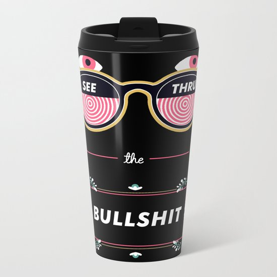 X Ray Specs Metal Travel Mug