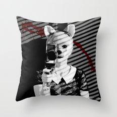 Fox Blood Throw Pillow