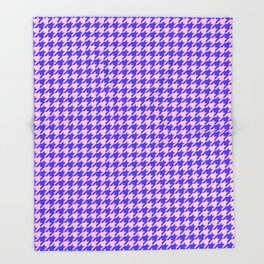 New Houndstooth 02191 Throw Blanket