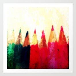 color pens Art Print