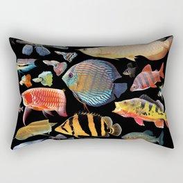 Freshwater tropical fish Rectangular Pillow