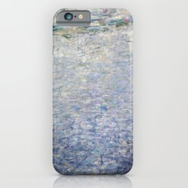 12,000pixel-500dpi Claude Monet - The Water Lilies - Clear Morning with Willows - Digital Remastered iPhone Case