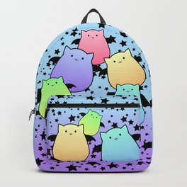 Pop Colour Bat Cats Backpack
