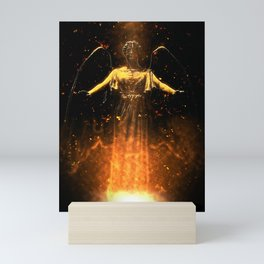Rise From the Flames Mini Art Print