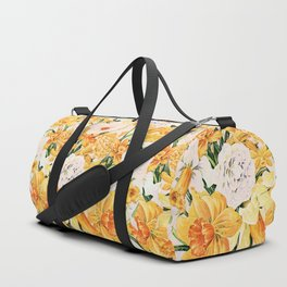 Wordsworth  and the daffodils. Duffle Bag