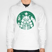 starfox Hoodies featuring Starfox Coffee by Jimiyo