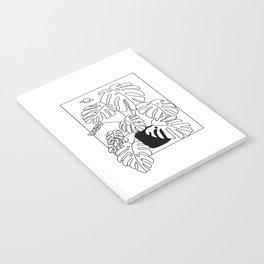 Magic Monstera Notebook