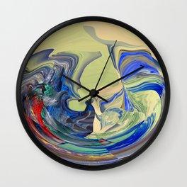Cultural Interchange Wall Clock