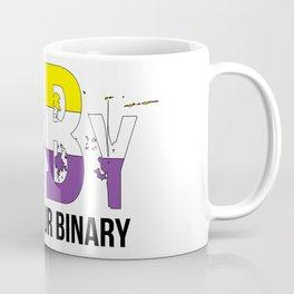 ENBY breaking ur binary Coffee Mug
