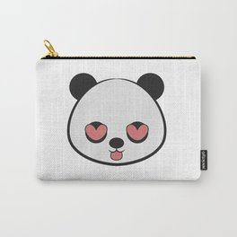 Panda Love Valentine Carry-All Pouch