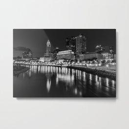 The Columbus Skyline Metal Print