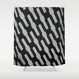 Chain link Shower Curtain