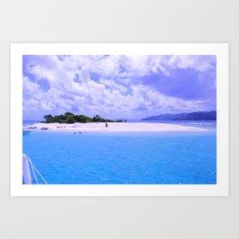 Perfect Island Art Print