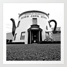 The Java Jive Art Print